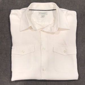 Banana Republic Linen S/S button down
